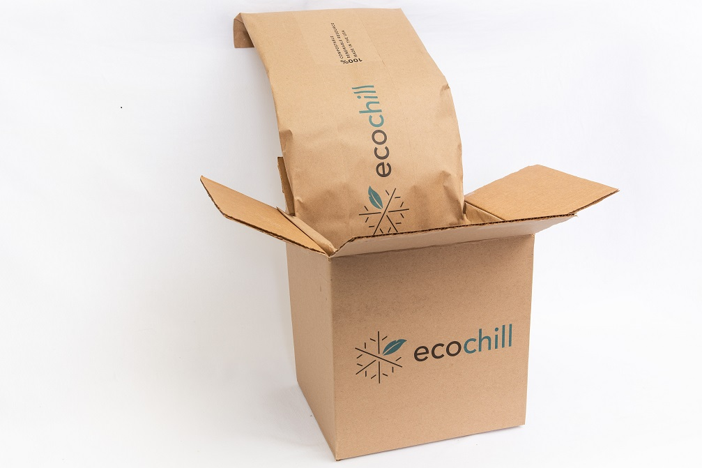 Ecochill environmentally friendly thermal packaging