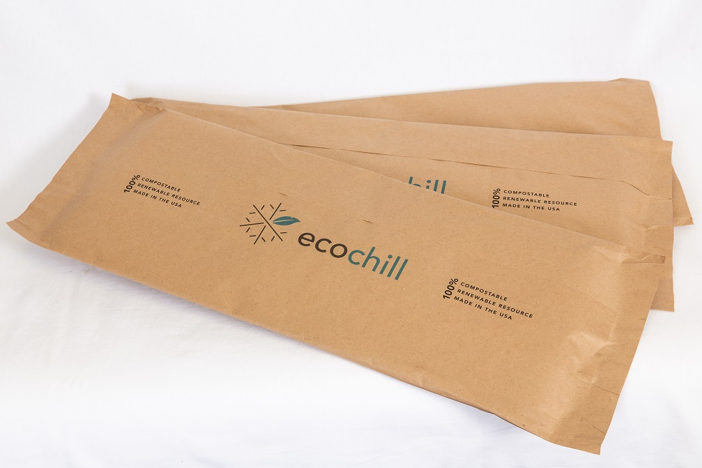 Ecochill thermal packaging pads designed to fit your sizing needs